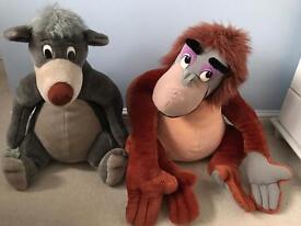 King Louie and Baloo