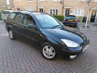 2004 FORD FOCUS ZETEC 1.6 ESTATE 5 SPEED MANUAL