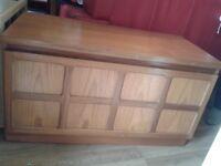 Vintage Nathan tv unit /cupboard