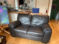 Brown 2 seater sofa. Good condition. Collection only.