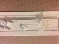 Flax wood blinds. £90 new unused.