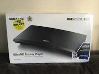 Plays 4K Ultra HD discs / Blu-ray & DVD, new.