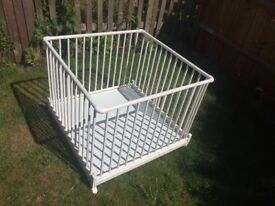 Playpen Geuther white
