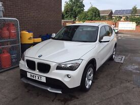 BMW X1 PEARL WHITE £7,500 NOT - AUDI MERCEDES FORD VW