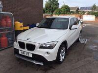 BMW X1 PEARL WHITE £7,500 NOT - AUDI MERCEDES FORD VW