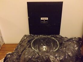 John Rocha Signature 8 inch Bowl Waterford Crystal, Gift,