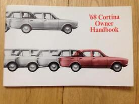 1967-68 Ford Cortina Owners Handbook