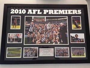 2010 Collingwood AFL Premiers– Framed –Reduced to $200 Beechboro Swan Area Preview