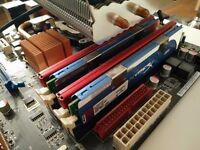 Asus P5Q Pro - Intel Q6600 with Cooler - 8GB DDR2