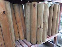 5.5x New Zest Log Roll (ideal for garden border edging)