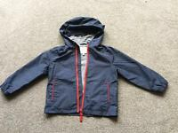 Boys age 4-5 summer coat from M and S
