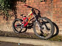 2015 YT Industries Tues Comp Al Downhill Mountain Bike