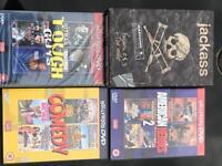 Sevection of DVD box sets