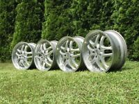 DMS deep dish alloy wheels, 18inch, 5x112, Mercedes Vw Audi, transporter T4