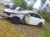 Audi a4 b8 parts breaking