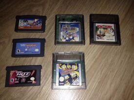 6 Game Boy Advance / Colour Games Bundle