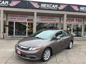 2012 Honda Civic EX-L AUTO* NAVI LEATHER SUNROOF 109K