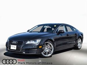 2013 Audi A7 3.0T (Tiptronic) *Certified*