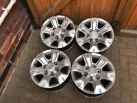 "15"" Genuine Toyota Hilux 6 stud Alloy Wheels pcd 6x139.7"