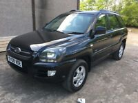KIA SPORTAGE 2.0 XE 4WD 08 PLATE 50,000 MILES ONE OWNER