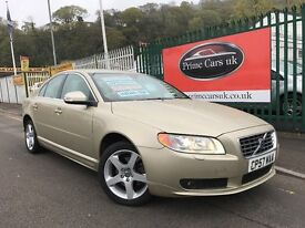 2008 (57 reg) Volvo S80 2.4 D SE Lux Geartronic 4dr Automatic Saloon Turbo Diesel