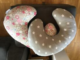Two feeding pillows excellent condition