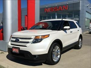 2015 Ford Explorer Limited, 7 passenger, navigation, leather