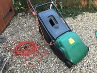 Electric cylinder lawnmower for sale