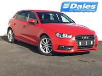 Audi A3 1.6 TDI Sport 5dr S Tronic (red) 2013