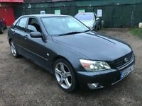 Lexus IS200 SE 1988cc Petrol Automatic 4 door saloon 03 Plate 21/07/2003 Grey