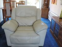 soft comfortable leather electric recliner