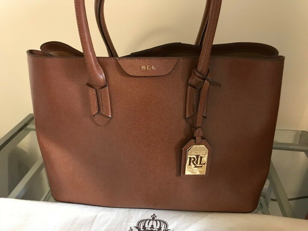 4c8969954b05 Ralph Lauren Bag New - Tan Leather Really Nice - never used