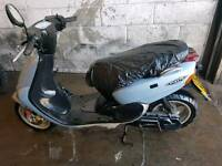 50cc scooter ride away