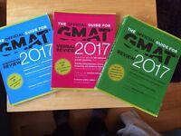 Official GMAT Review 2017 Book Set