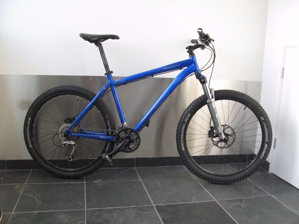 Specialized Rockhopper Mountain Bike, 19 inch frame (large), blue ...