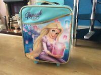Disney store rapunzel suitcase