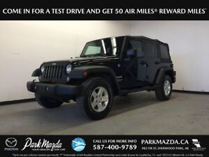 2014 Jeep Wrangler Unlimited Sport 4x4 - Bluetooth, Soft Top, AU