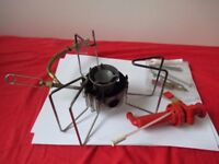MSR Dragonfly stove: Camping/backpacking stove that runs on almost any fuel