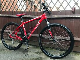 Specialized hard rock 29er mountain bike will post