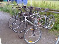 Adult bicycles wanted for project