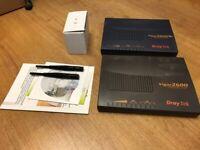 DrayTek Vigor 2600 Router and vigor 2600 we