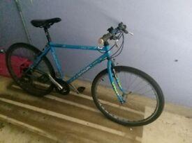 Saracen bike, solid and sturdy. Perfect working order