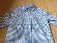 Boys Ralph Lauren long sleeve shirt