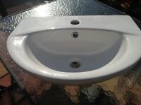 Ceramic Hand Basin / Sink - Unused