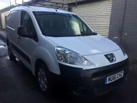 SALE! NO VAT! Bargain Peugeot partner 3 seater van, full years MOT, ready for work