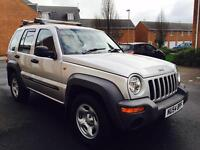 JEEP CHEROKEE LIMTED 2005 not t5 335 535 520 tdi s lineforester Cupar 4x4 defender discovery