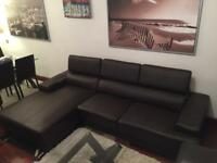BARELY USED couch with chaise - need to sell fast!