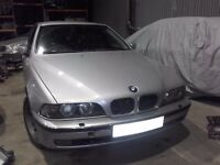 2000 BMW 530d 5 series E39 Automatic Saloon BREAKING For Spare Parts Titan silver