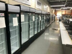 BRAND NEW AND USED COOLERS AND FREEZERS WITH GLASS AND SOLID DOOR OPTIONS AT SINCO.CA WE SHIP ACROSS CANADA