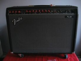 A FENDER PRO 185 AMPLIFIER AND FREE AMP STAND